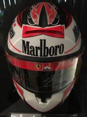 Kimi Raikkonen's helmet