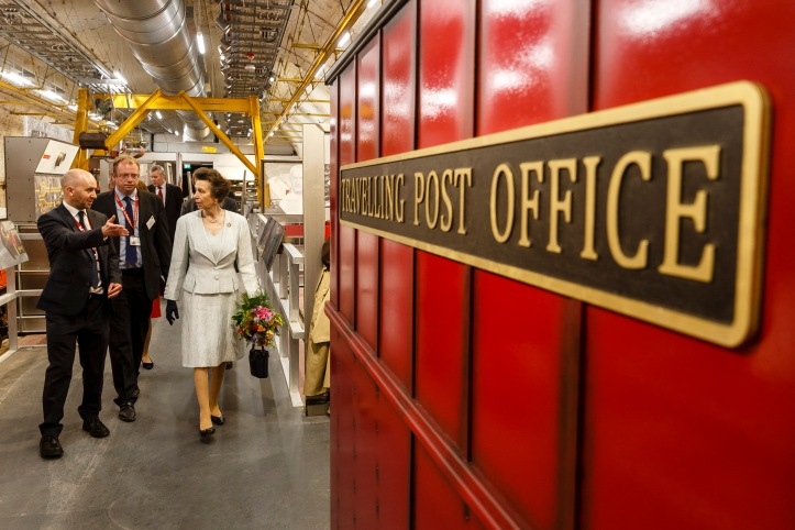 The Princess Royal Hosts A Ceremonial Opening For The Postal Museum
