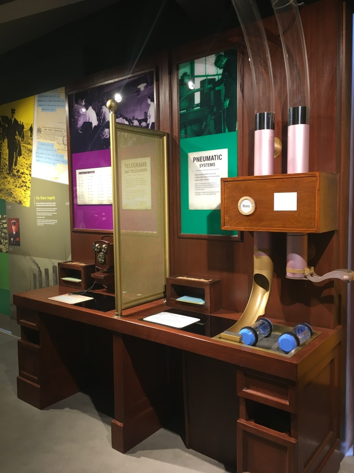 Tincture of Museum - The Postal Museum Pneumatic Tubes interactive