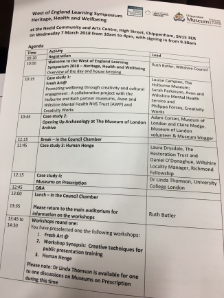 A full programme