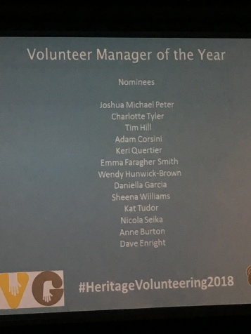 Nominees for Volunteer Manager of the Year