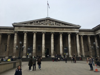 British Museum, this time we didn't get thrown out