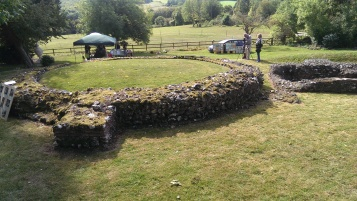 Site of Keston roman tombs.