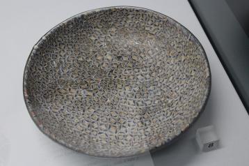 Coloured glass dish AD200-300.
