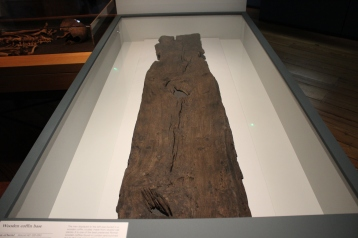 Wooden coffin base, around AD120-250. Found by Holborn Viaduct, City of London.