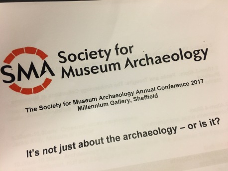 A talk at the Society of Museum Archaeologists on autism in museums