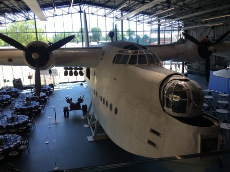 Sunderland Flying Boat in Hangar 1.