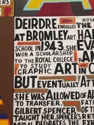 Bob and Roberta Smith traces Deirdre Borlase's hi
