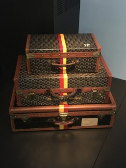 The Duke and Duchess of Windsor each owned a set of personalised luggage.