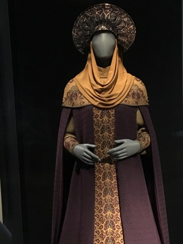Padmé Amidala's costume designed by Scottish designer Trisha Biggar.