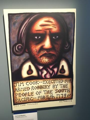 Jim Cook Mugshot by Reg Mombassa, 2013