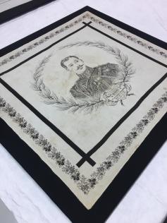 Handkerchief commemorating the death of Prince Albert Victor