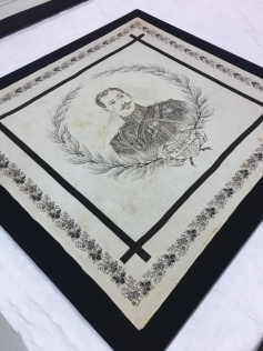 Handkerchief commemorating the death of Prince Albert Victor