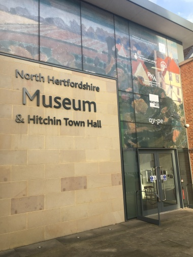 The new museum is in Hitchin
