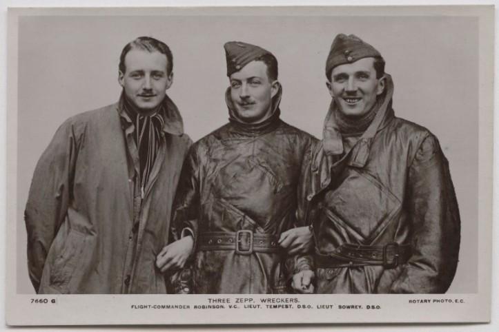 William-Leefe-Robinson-Wulstan-Joseph-Tempest-Frederick-Sowrey