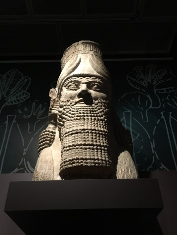 Sennacherib, Ashurbanipal's grandfather, described how the he decorated the 'Palace Without Rival'.