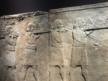 This panel lined a corridor in the South-West Palace at Nineveh.
