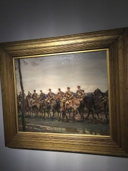 Lord Strathcona's Horse on the March, Alfred Munnings