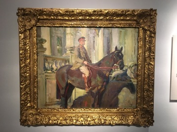 Captain Prince Antoine of Orleans and Braganza, Alfred Munnings