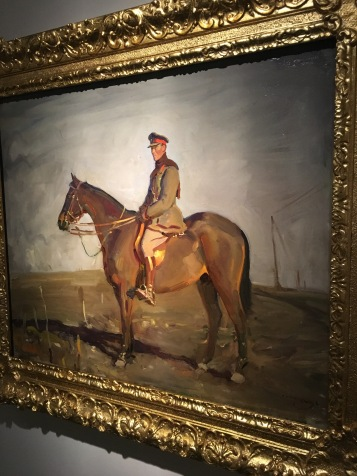 This is the first picture Mannings painted at the Front.