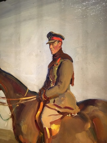 Major-General The Right Honourable J. E.B. Seely, Alfred Munnings.
