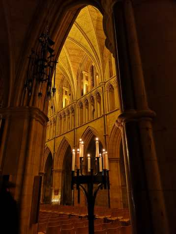 Southwark Cathedral by candle light