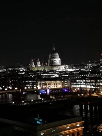 London lights.