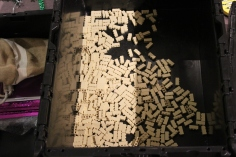These blocks will be used as sand.