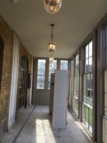 Re-built conservatory