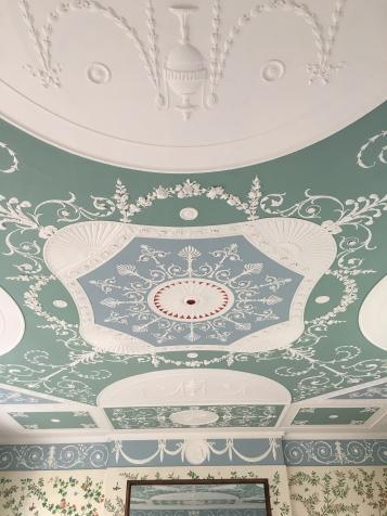 Original ceiling.