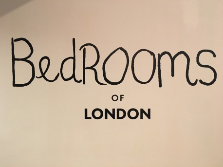 Bedrooms of London, photo-documentary exhibition.