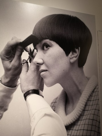 Dame Mary Quant.