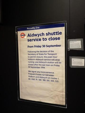 Aldwych finally closed in 1994.