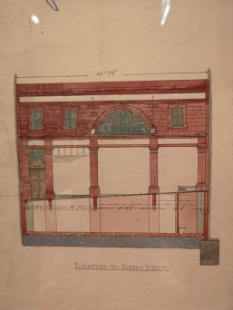 Architectural drawings 1906