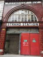 The actual closed station.